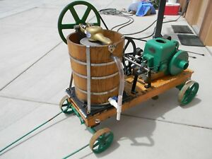 Hit And Miss 20qt Ice Cream Wagon Fairbanks Morse Z 2hp Manual s Included