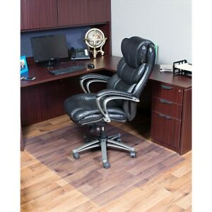 Floor Mat For Office Computer Chairs Prevent Scratches Clear For Hard Floors New