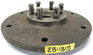15 1 2 Diameter D1 6 Spindle To A2 15 Chuck Mount Conversion Adapter Plate