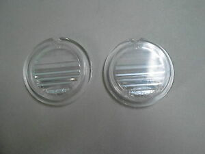 Mopar 69 70 Charger 69 Road Runner Reverse Back Up Light Lenses 1969 1970