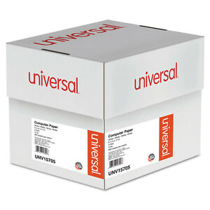 Universal 4 part Carbonless Paper 15lb 9 1 2 X 11 Perforated White 900 Sheets