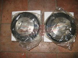 New Pair Of Mga Brake Drums 1955 1958 Front Drums With Wire Wheels