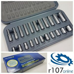 Blue Point 22pc 1 4 Af Imperial Socket Set As Sold By Snap On