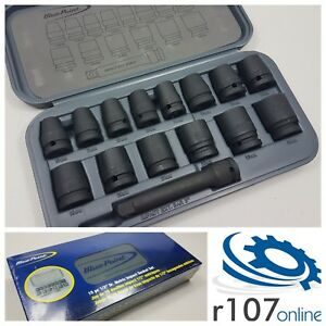 Blue Point 15pc 1 2 Impact Socket Set As Sold By Snap On