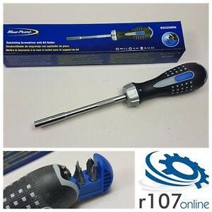 Blue Point Ratchet Screwdriver With Bits Incl Vat As Sold By Snap On