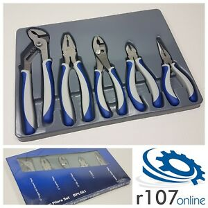 Blue Point 5pc Pliers Set Incl Vat As Sold By Snap On