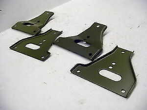 Mb Gpw Willys Ford Wwii Jeep G503 Bumper Gusset Set
