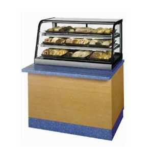 Federal Cd4828ss Countertop Display Case Curved Glass Self Serve Non refriger
