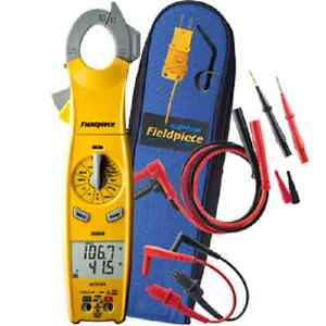 Fieldpiece Sc620 400a Loaded Clamp Meter Swivel Head