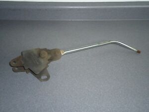 Vintage Hurst Mystery 3 speed Shifter W Round Bar Handle 6827 Street Rat Rod