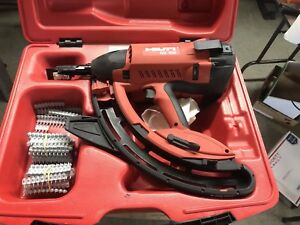 Hilti Gx 100 Fully Automatic Gas Actuated Fastening Tool Used Very Little Exc