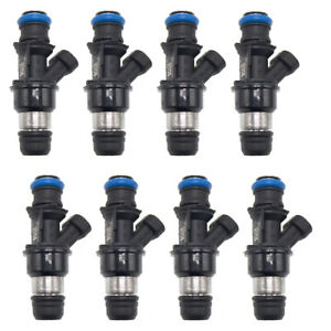 8 X New Oem Fuel Injectors 25348180 25176061 17113739 For Chevrolet Gmc Cadillac