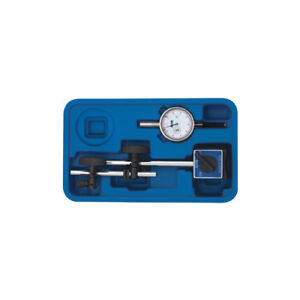 Dial Indicator Set With Magnetic Base Fowler 72 585 155 Water Resistant Tool