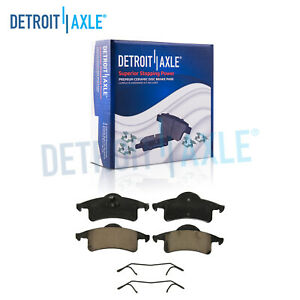 Rear Ceramic Brake Pads For 1999 2000 2001 2002 2003 2004 Jeep Grand Cherokee