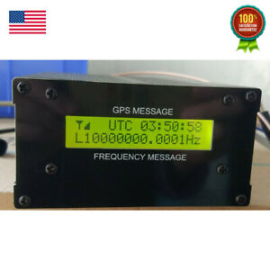 Gpsdo Gps Colck 10m W lcd Display Frequency Message Disciplined Oscillator Usa