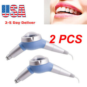 Usa 2pcs Dental Hygiene Prophy Jet Air Polisher Tooth Polishing Handpiece 4 Hole