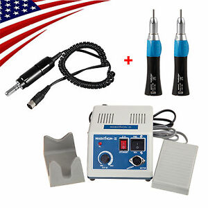 Dental Marathon Micro Motor Electric Motor Polishing 2 Straight Nose Cone