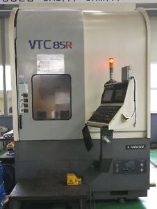 Hankook Vtc 85r Cnc Vertical Turning Center With C axis New 2010 Live Milling