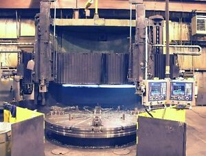 124 Bullard Cnc Vertical Boring Mill Retrofit In 2003