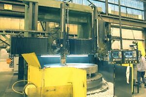120 Giddings Lewis Cnc Vertical Boring Mill Retrofit In 2000