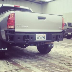 Hot Metal Fab Rear Bumper For 2005 2015 Toyota Tacoma