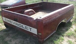 Long Bed Box 88 To 98 Chevy Gmc 1500 2500 Pick Up Truck 89 90 91 92 93 94 95