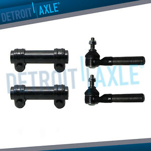 Front Outer Tie Rod Adj Sleeve Kit For 2000 2001 Dodge Ram 1500 4wd 3 9l 5 2l