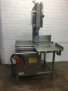 Hollymatic Hi yield 16 Commercial Vertical Meat Bone Band Saw