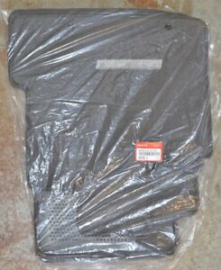 New Oem Genuine Honda Ridgeline Tu Dark Gray Floor Mats 83600 sjc a11zb