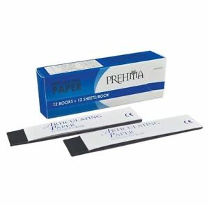 Prehma Articulating Paper Thick Blue 12 Sheets 04 00522