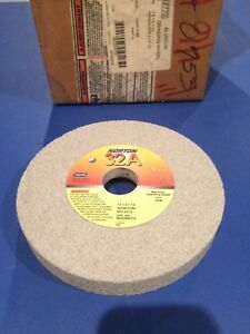 5 Norton Grinder Wheels 32a46 hvbe 7 X 1 X 1 1 4 Recessed 1 2 X 4