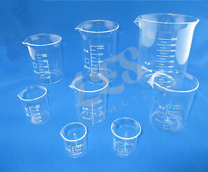 1pcs New Quartz Sio2 Silica Beaker 500ml l09 500
