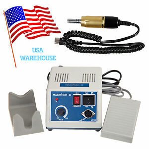 Usa Dental Marathon Micro Motor Polishing With Electric Motor 35000 Rpm Gold