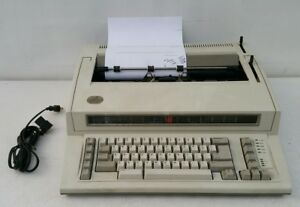 As is Ibm By Lexmark Personal Wheelwriter Electric Typewriter 6781 read Info