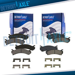 Front Rear Ceramic Brake Pad Silverado Sierra 1500hd 2500 3500 Yukon Xl 2500