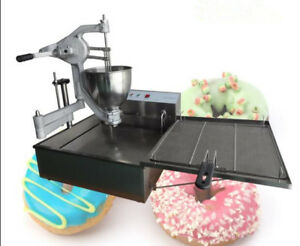 Desktop Manual Commercial Semi automatic Donut Machine Dolly Fryer