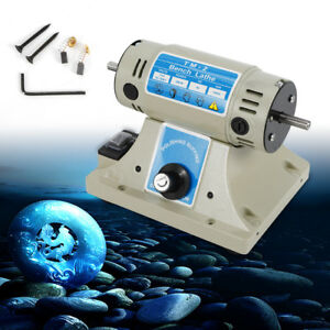 Mini Bench Lathe Machine Body Electric Grinder Polisher Driller Metal Polishing