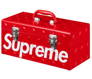Supreme Diamond Plate Toolbox Tool Box Fw18 Sold Out Order Confirmed New