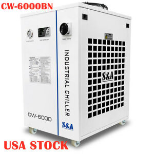 Cw 6000bn Industrial Water Chiller For 100w Solid state Laser