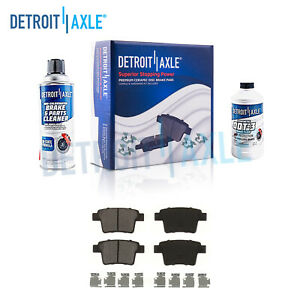 Rear Ceramic Brake Pads For Five Hundred Taurus X Freestyle X type Sable Montego