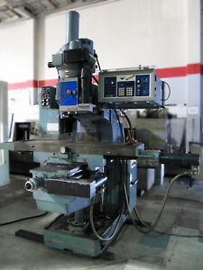 Shizuoka An s 3 axis Cnc Knee Mill 51 x11 table W Bandit Control