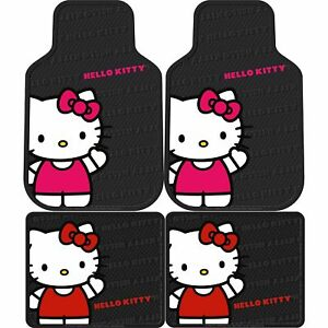 New Hello Kitty Core Floor Mat 4 Pcs Set