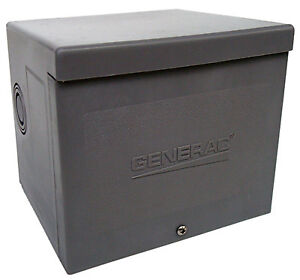 Generator Power Inlet Box Resin 30a