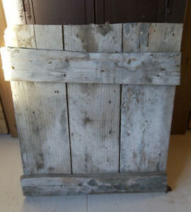 Barn Door Old Vintage 22 X 25 Farmhouse Door Barn Wood Door W Orig Hardware