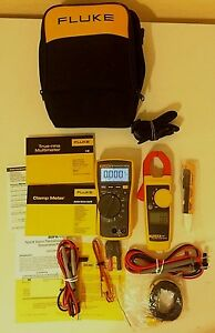 Fluke 116 323 Electrician Kit With Accessories And Manual And Great Deal