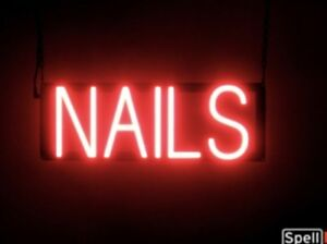 Spellbrite Ultra bright Nails Sign Neon led Sign neon Look Led Performance