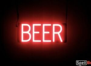 Spellbrite Ultra bright Beer Sign Neon led Sign neon Look Led Performance
