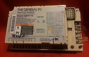 General 90 50a50 110 Furnace Control Board Used