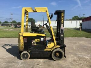 Hyster E60xm 33 Electric Lift Truck Forklift