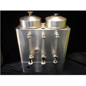 J h Mckie Vintage Commercial Coffee Urn 3 Spout E b millar Coffee Co